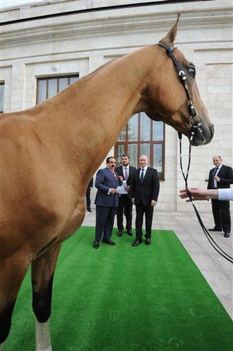 Vladimir Putin predaje klaju Hamad bin Issa Al Khalifa