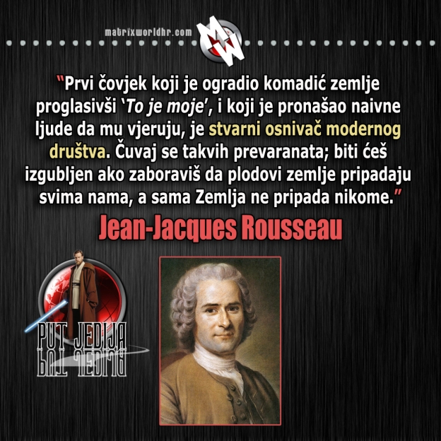 Moderno društvo, Rousseau