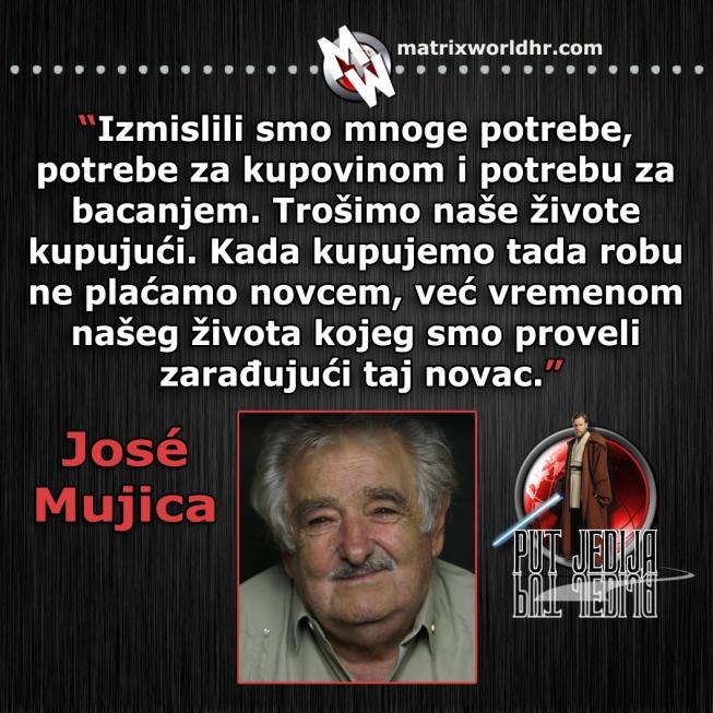 Potrebe, Jose Mujica