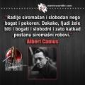 Siromašni robovi, Camus