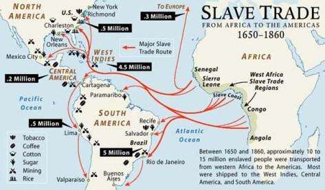 Kratki prikaz trgovine robljem.