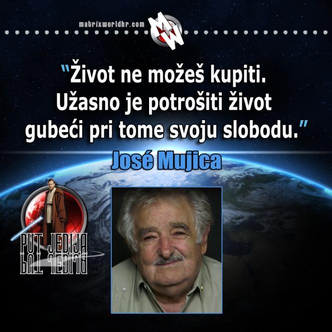 Život ne možeš kupiti, Jose Mujica