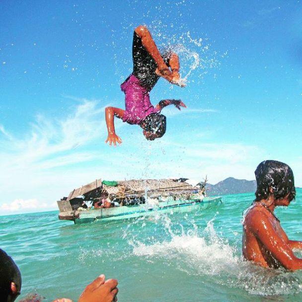 Dječje radosti malih morskih nomada.