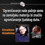 hawking ograničavanje ljudskog duha