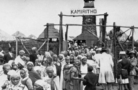 Rijetka fotografija konc logora koje su Britanci stvorili kako bi spriječili pobunu Kenijaca.