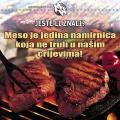 meso ne truli u našim crijevima