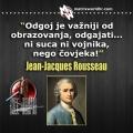 Odgoj, Rousseau