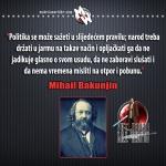 politika Mihail Bakunjin