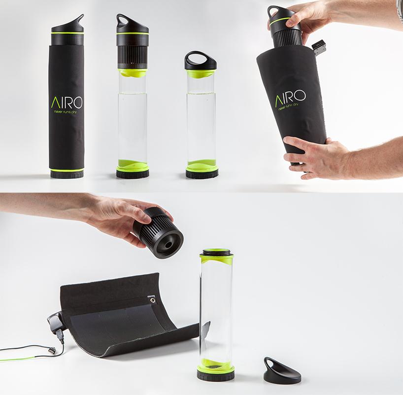 Airo - genijalan izum za samopuneću bocu.