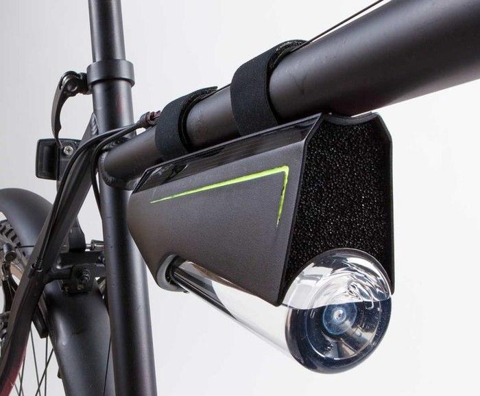Ryde - Fontusov izum za samopuneće boce za bicikliste.