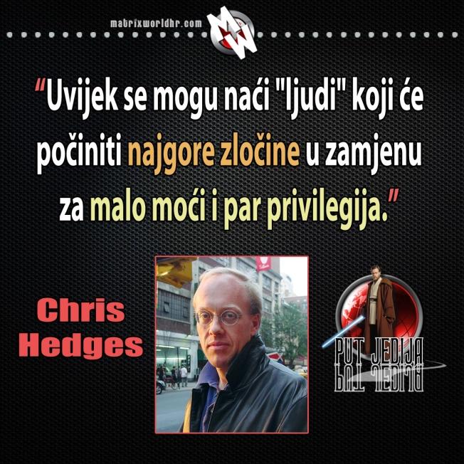 ljudi privilegija i moć hedges