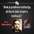 Mencken, institucija