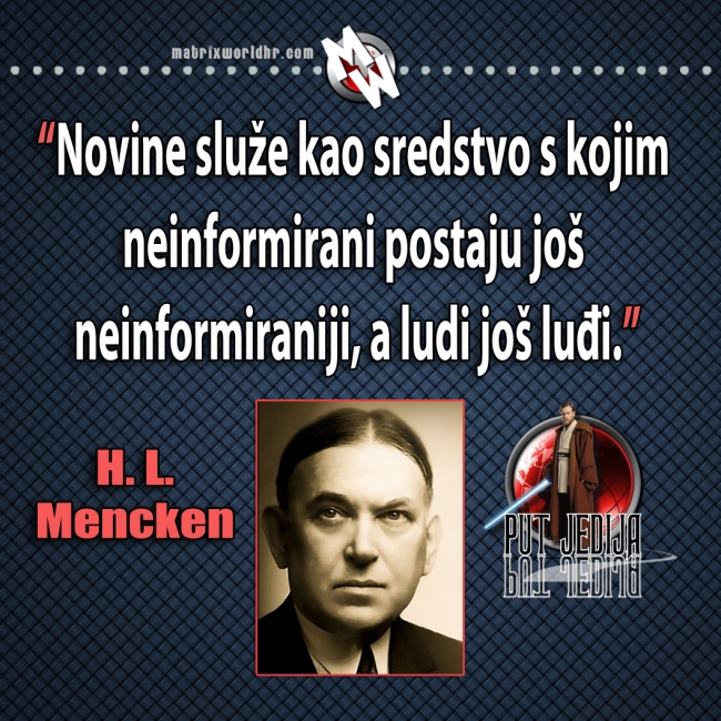 Mencken, novine