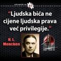 Mencken, prava i privilegije