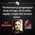 Mencken, puritanizam