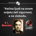 Mencken, sloboda