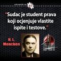 Mencken, sudac