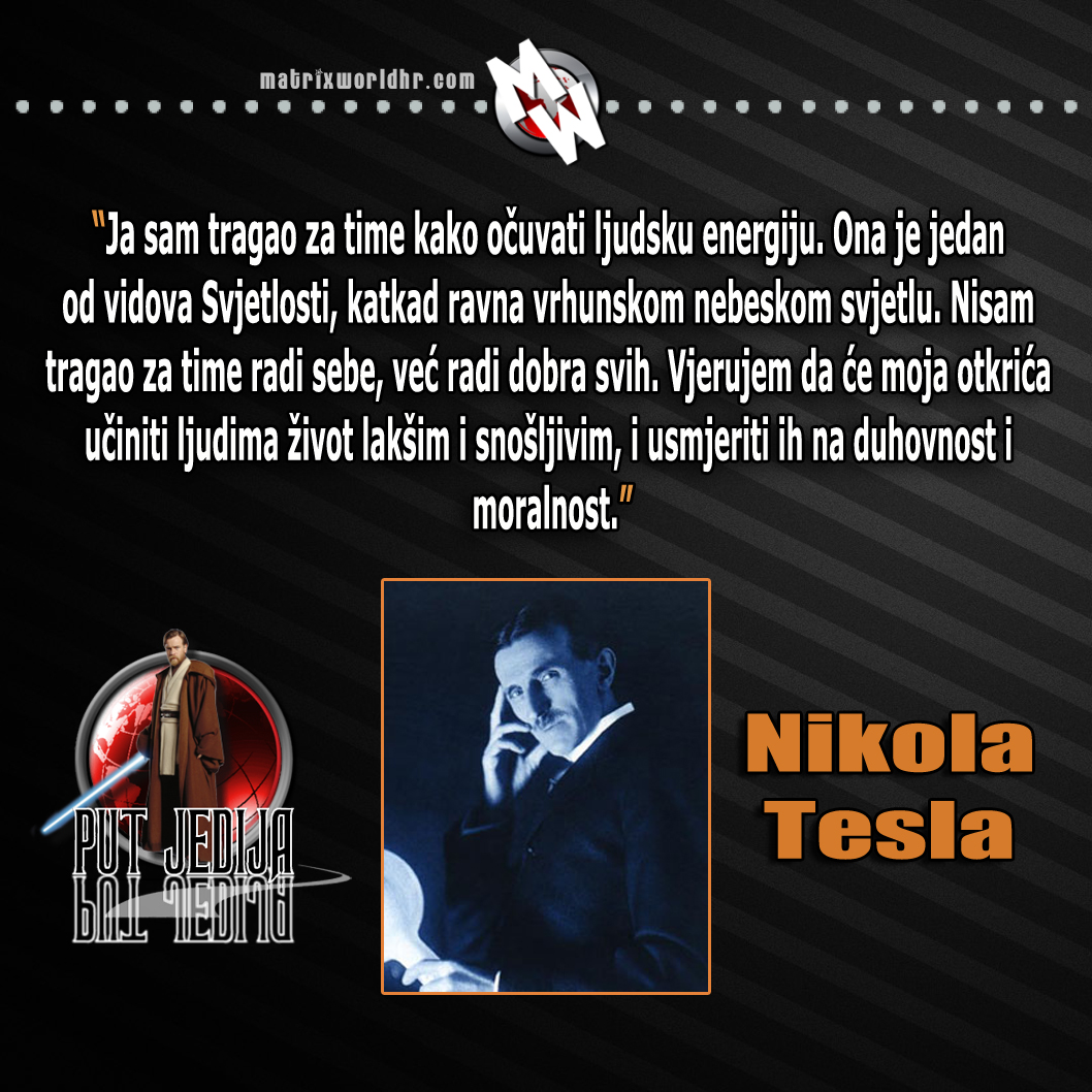 Nikola Tesla Wallpapers 35 Wallpapers: Nikola Tesla Izreke