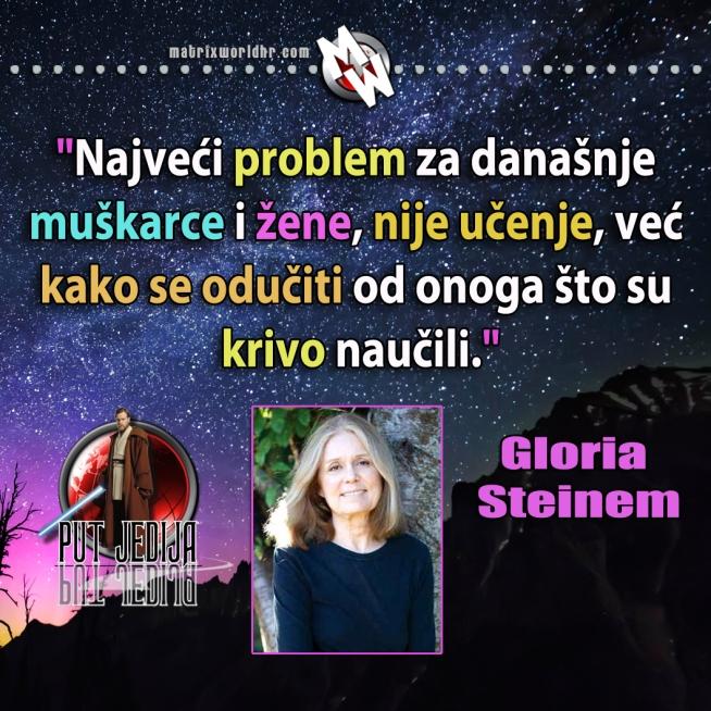 Steinem, učenje i odučavanje