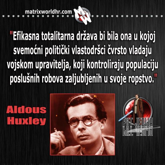 Totalitarna država, Huxley
