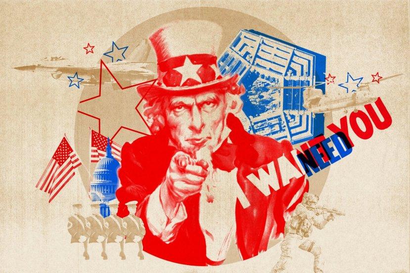 Propagandna politika SAD-a: Uncle Sam - Želim tebe!