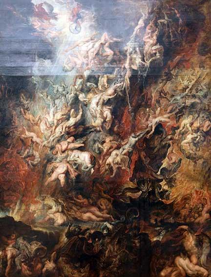 """Rubensov """"pad u pakao"""", je samo dio veličanstvenih remekdijela koja za temu imaju kršćansku predođbu pakla."""