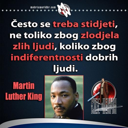 king indifernetnost dobrih ljudi
