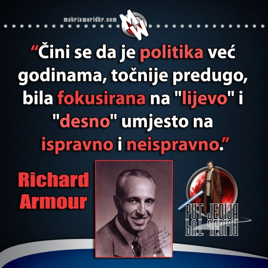 richard armour politika