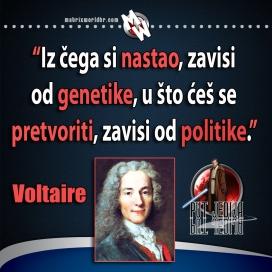 voltaire politika i genetika