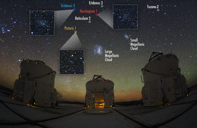 Uz krater 2 otkrivene su još neke patuljaste galaksije koje kruže oko Mliječne staze.