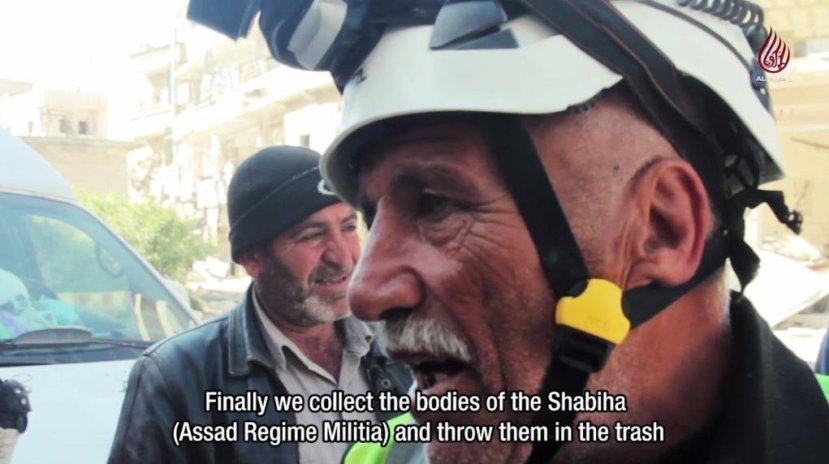 """""""Na koncu smo pokupili tijela Assadove milicije i bacili smo ih u smeće,"""" interesantna izjava navodnog humanitarca iz redova """"Bijelih kaciga""""."""