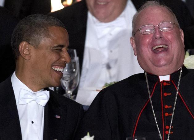 Politička moć kardinala Dolama je golema, a među njegovim prijateljima se nalazi i predsjednik Obama.