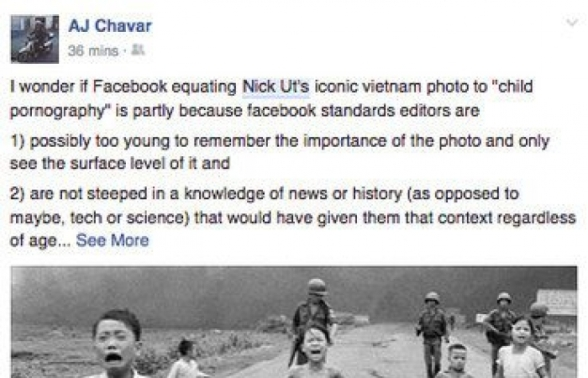 Mali rat protiv Facebook cenzure.