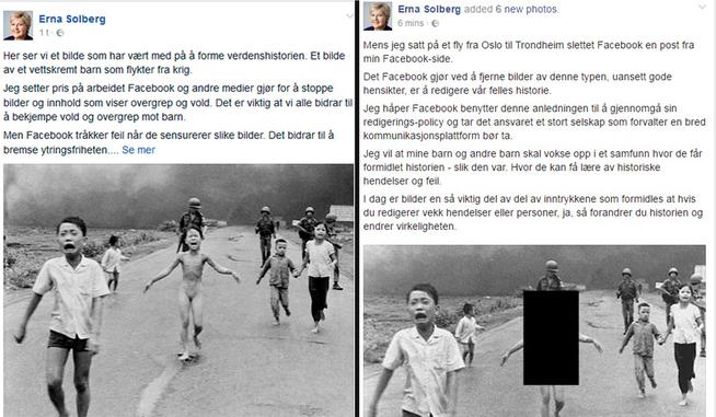 Norveška premijerka u otvorenom ratu protiv cenzure na Facebooku.