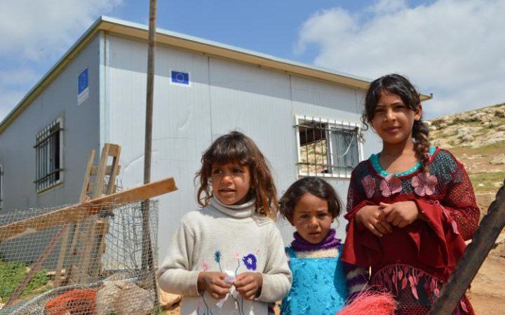Malane kuće izgrađene EU fondovima pričinjavale su sigurnost raseljenim Palestincima.