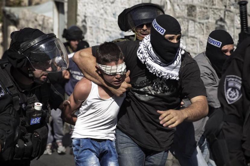 U studiju nisu uključena Palestinska djeca već isključivo židovska djeca.