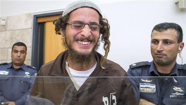 Nasmijani Ettinger za vrijeme ispitivanja na sudu u Nazareth Illitu, snimljen dva mjeseca nakon zločina.