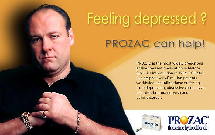 Prozac se prodaje pod lijekom za liječenje depresije koji iza sebe ima više od 40 milijuna izliječenih pacijenata. No svjedoci smo da je problem depresije u rastu a ne u padu, zar ne?