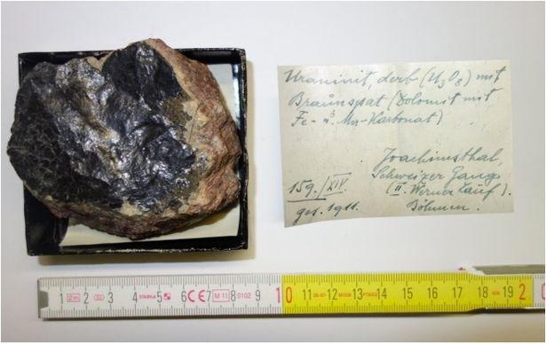 Še en kos urana najden v eni izmed avstrijskih šol.