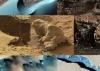 Proljetna erozija nastala otapljanjem leda na Marsu.