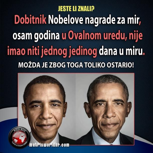 Nobelovac Barack Obama nije proveo jedan jedini dan u miru.