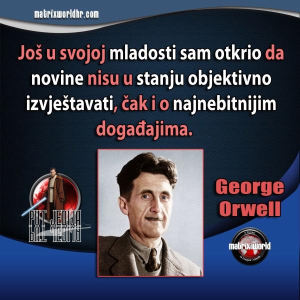 Obraća li itko pažnju na Orwellove riječi?