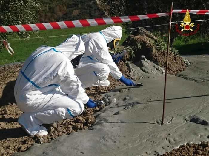 Talijanske vlasti ispituju pojavu kako bi ustanovili eventualnu opasnost.