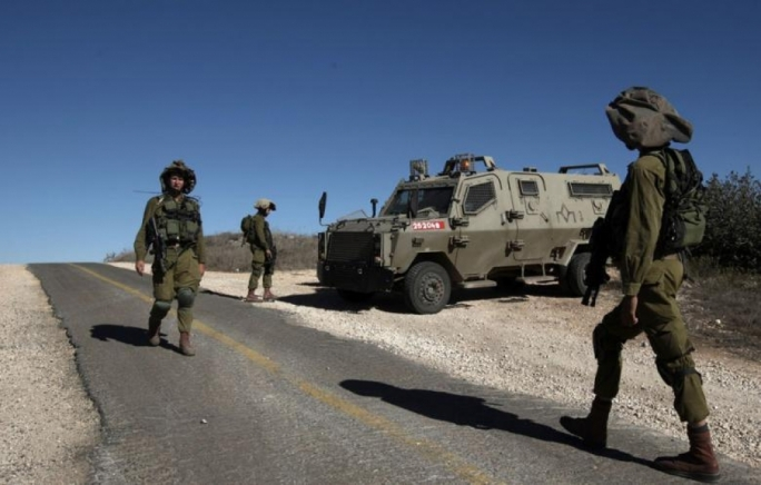 Izraelski vojnici na Golanskoj visoravni.