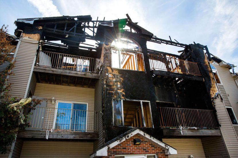 Zgrada u kojoj se dogodio požar koji je potakao preispitivanje privatnosti u privatnom vlasništvu.