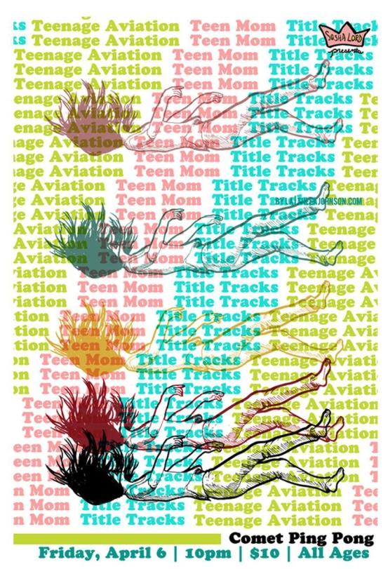 """Poster za zabavu u Comet Ping Pongu napravljenog za sve uzraste. Slika prikazuje djevojčicu koja se particira na podvoijena """"ja"""" koji nastaju tijekom trauma poput silovanja, psihičkih i fizičkih mučenja.."""