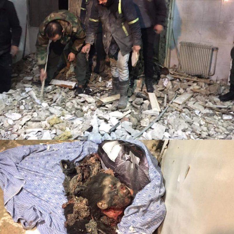 Glava nesretne djevojčice Islam nakon što je otac okinuo eksploziv omotan oko njenog torza.