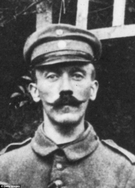 Adolf Hitler na zapadnom frontu.