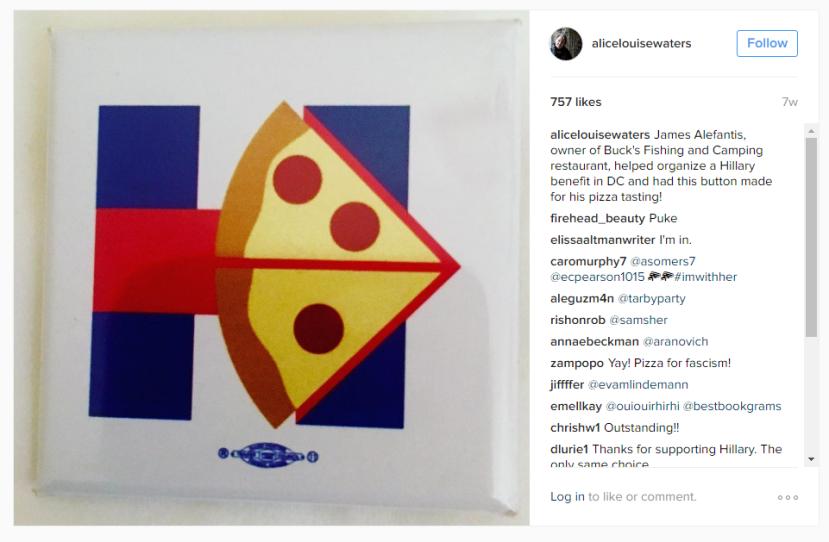 Alefantis je skupljao novac za Hillarynu kampanju.