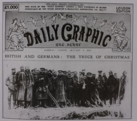Naslovnica Daily Graphica o božićnom primirju.